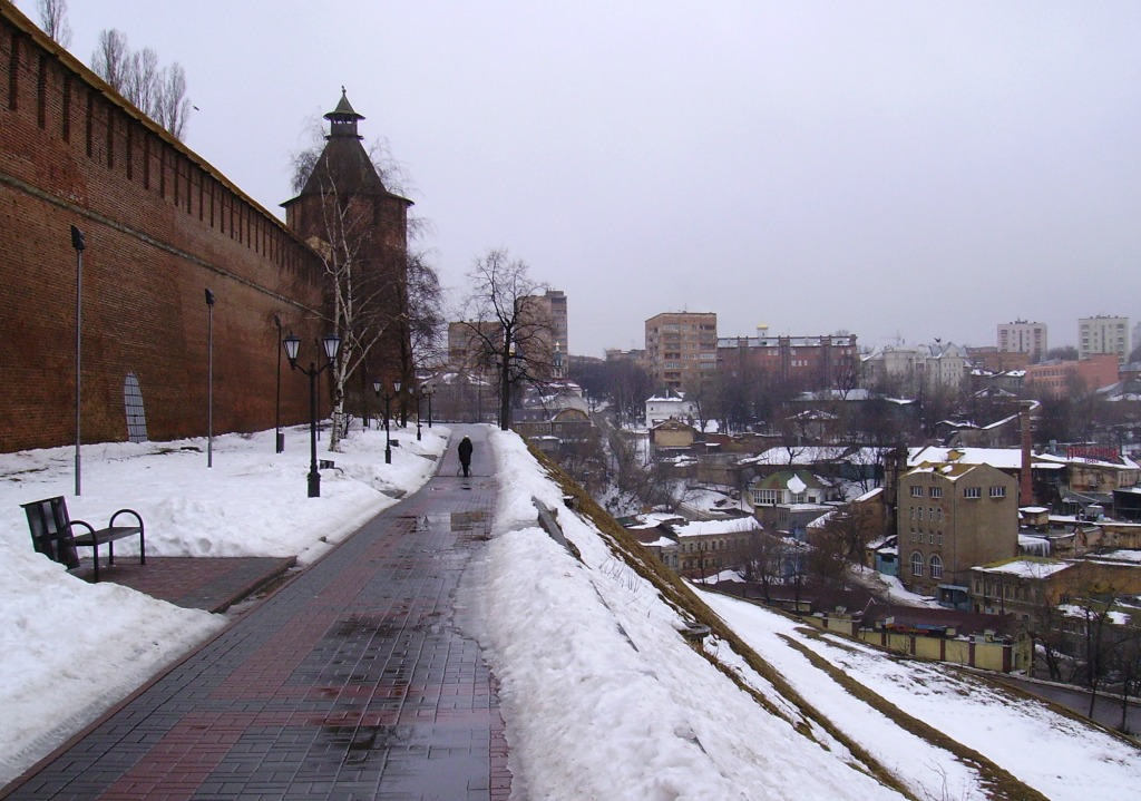 View to Taynitskaya Tower of Kremlin – the psychology of this nation helped drive Tell Me a Lie towards its finale (Image: Алексей Белобородов)