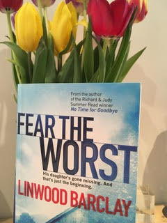 This month's pick: Fear the Worst by Linwood Barclay - it's a great holiday read.