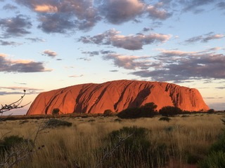 Uluru is one of the most intensely spiritual places I've been to. This is my third visit, and I was hoping for some creative inspiration while I was there, but at 40 degrees in the shade, my brain melted. All I could think of was buckets of iced water. And beer.