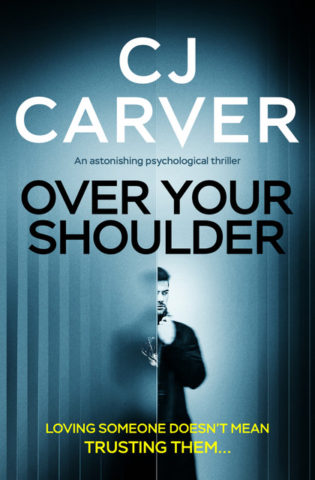 Over your shoulder (book cover)